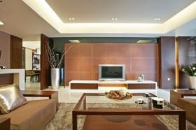 简约风格家装客厅电视背景墙效果图