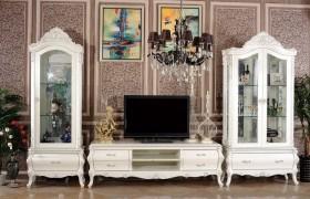 欧式风格电视柜效果图