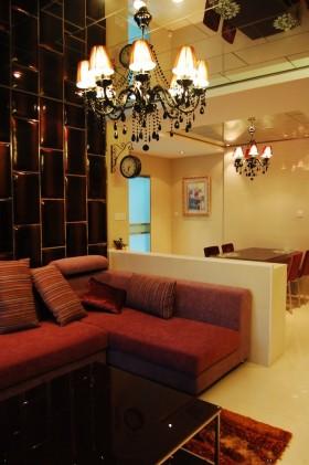 现代客厅灯具装饰大全图片