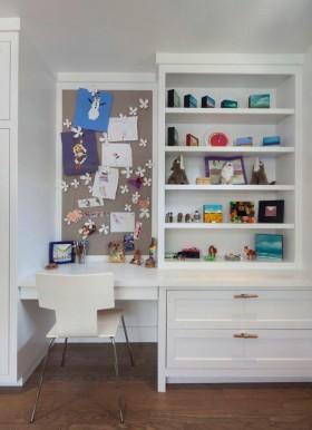 现代风格小书房装修效果图片大全