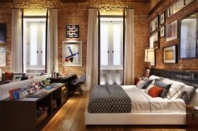 现代简约家装卧室装修设计图