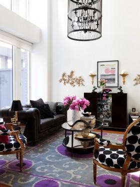 客厅装修效果图欣赏 跃层客厅装修效果图