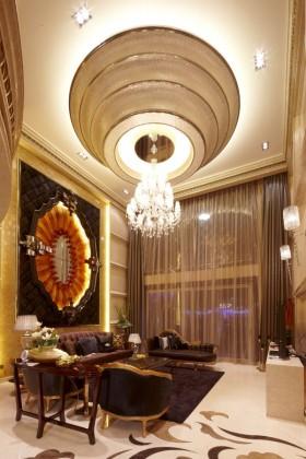 豪华家装客厅吊顶效果图