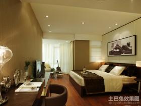 最新现代简约三居主卧室装修效果图