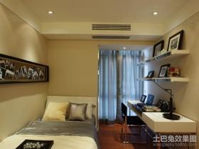 现代小卧室书房装修效果图