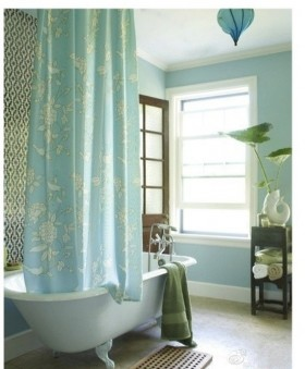 卫生间窗帘装修设计图