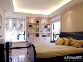 最新简约主卧室装修效果图片