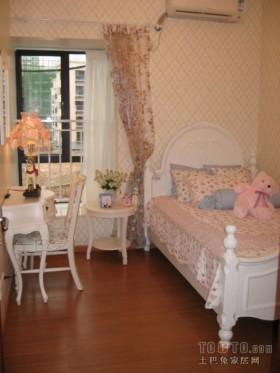 欧式田园风格儿童房装修效果图欣赏