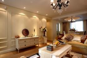 欧式风格客厅背景墙装饰