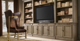 复古风格电视柜设计效果图