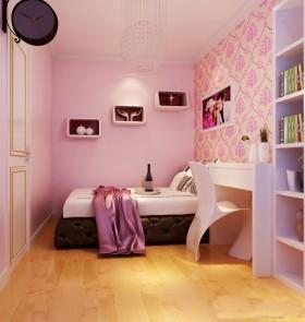 现代80平米小户型婚房卧室装修效果图大全