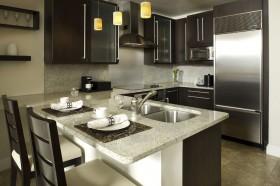 欧式现代厨房整体橱柜装修效果图大全