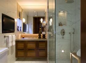 小卫生间装修效果图  欧式洗手间装修效果图