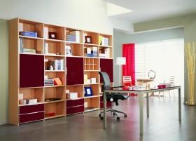 现代书房装修效果图 家庭书房装修图片