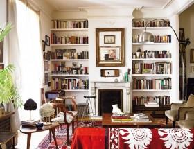 家庭欧式书房装修效果图