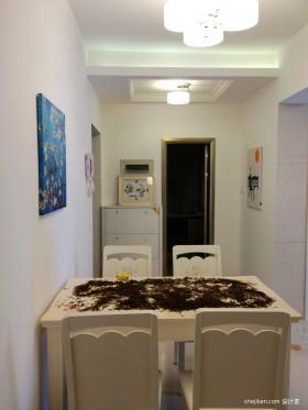 两室一厅90平装修家庭餐厅图片