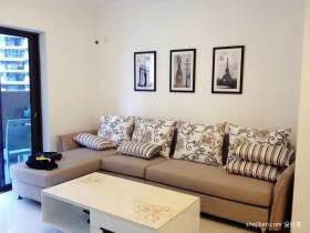 两室一厅90平装修客厅沙发图片