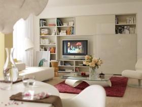 客厅装修效果图欣赏 客厅电视背景墙设计