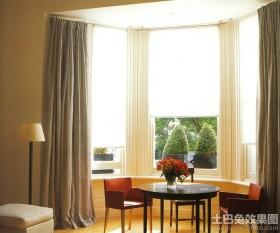 阳台飘窗窗帘图片大全