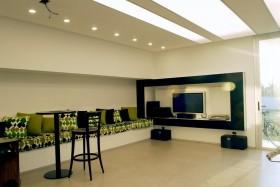 现代简约客厅电视背景墙装修效果图大全图