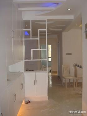 家装客厅现代博古架装修效果图欣赏