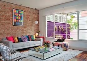 80平房屋沙发背景墙装修效果图大全