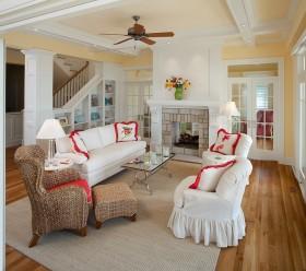 欧式风格客厅效果图 欧式别墅客厅效果图