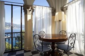 阳台窗帘装修图  阳台装修效果图大全2012图片