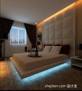 两室一厅90平装修卧室窗帘图片