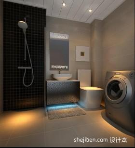 两室一厅90平装修整体卫生间效果图