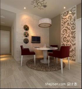 两室一厅90平装修餐厅吊灯图片