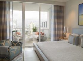 卧室与阳台隔断图片