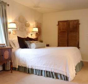 欧式简约卧室装修效果图大全 小卧室装修图片