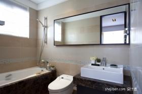 中式卫生间装修效果图大全2012图片  现代中式卫生间装修