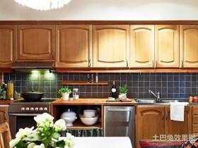 2013最新东南亚开放式厨房装修效果图