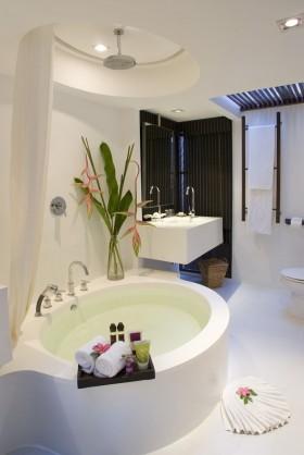 现代卫生间装修效果图  洗手间装修效果图
