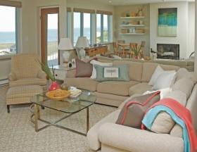 北欧风格客厅沙发摆放效果图