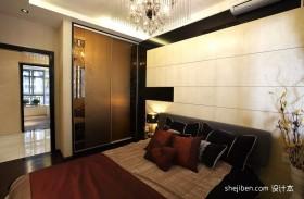 中式卧室装修效果图   2012现代中式卧室装修