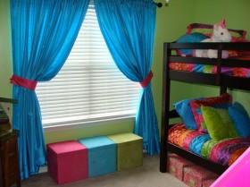 地中海卧室窗帘效果图   卧室窗帘图片