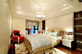 新古典风格小卧室装修效果图