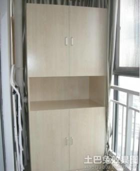 阳台储藏柜装修