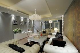 现代客厅吊顶效果图 室内装修吊顶图