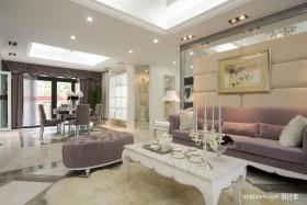 2013年最新欧式别墅客厅装修效果图
