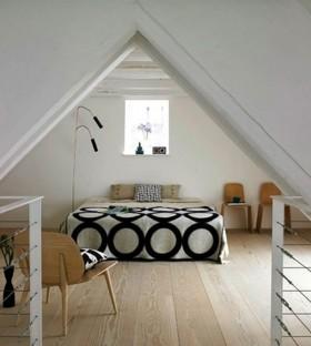 尖顶阁楼卧室装修效果图大全2013图片