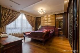 中式卧室装修效果图  2012中式卧室装修效果图