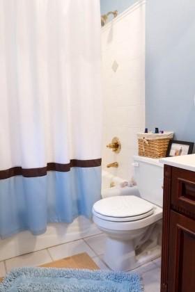 四室两厅卫生间装修效果图  欧式卫生间厕所装修图片