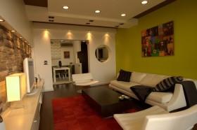 两室一厅90平装修客厅效果图