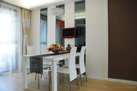 两室一厅90平装修餐厅效果图