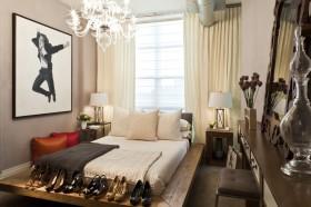 现代简约卧室榻榻米图片