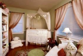 欧式风格婴儿房布置效果图片